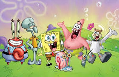 Spongebob and Friends