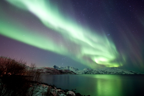 The Aurora Borealis Colors