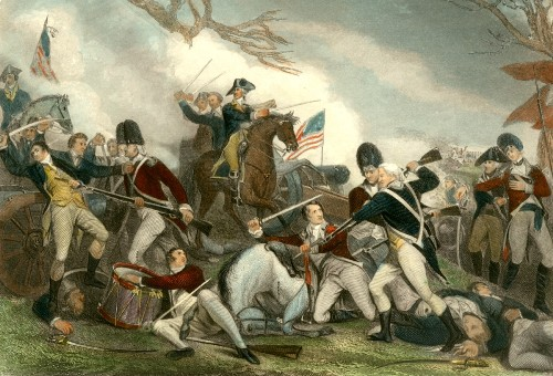 The Battle of Princeton Image