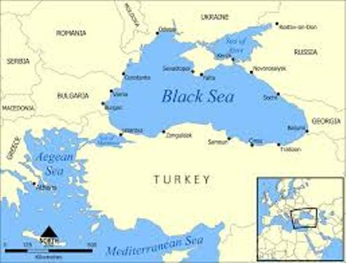 The Black Sea Map
