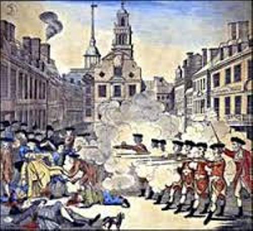 The Boston Massacre Image