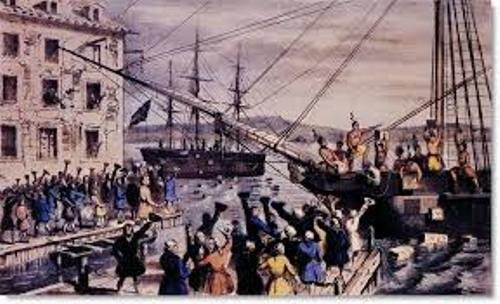 The Boston Tea Party Image