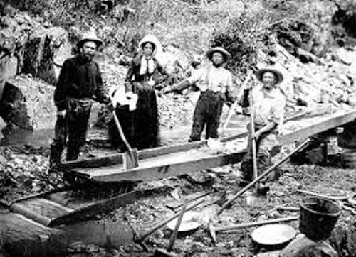 The California Gold Rush Miners