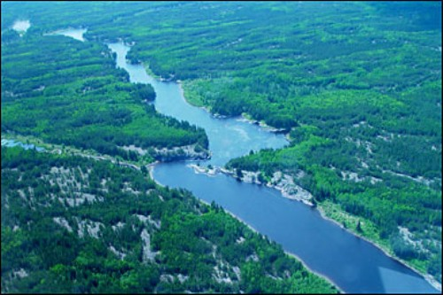 the Canadian Shield Landscape