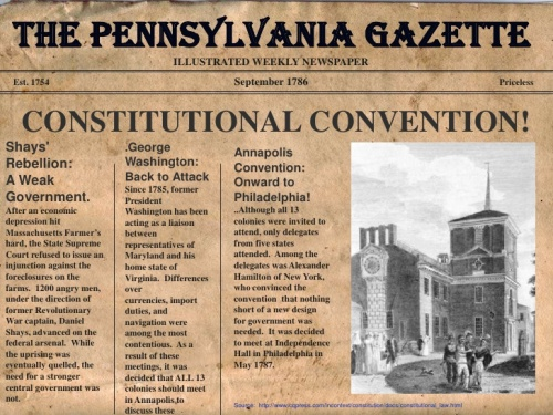 The Constitutional Convention Image