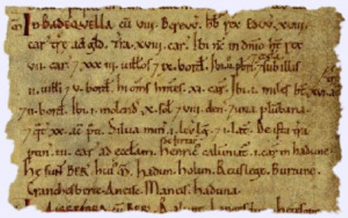 The Domesday Book Pictures