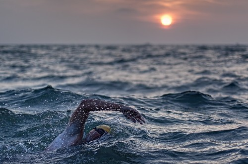 The English Channel Swimming