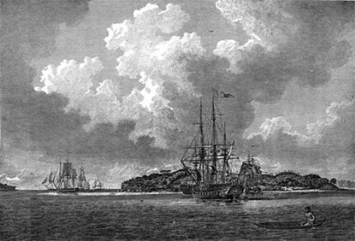 The First Fleet History