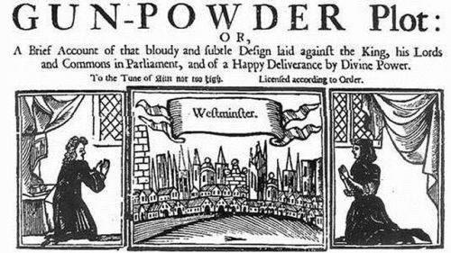 The Gunpowder Plot Pic