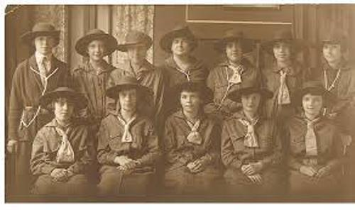 The History of Guiding in Canada