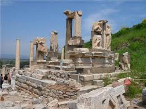 the greek empire ruins