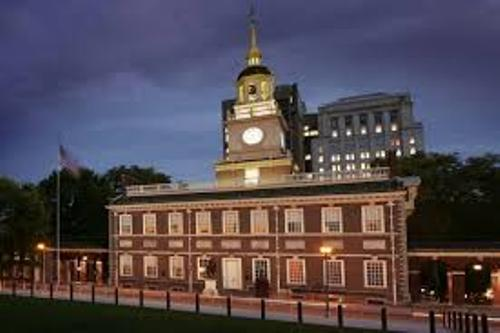 The Independence Hall Building