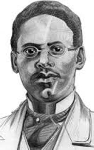 Lewis Latimer Painting