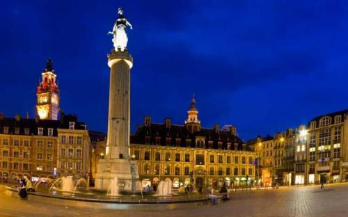 Lille at Night