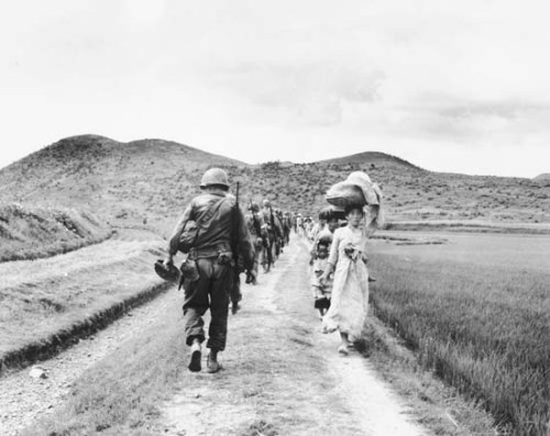 The Korean War Image