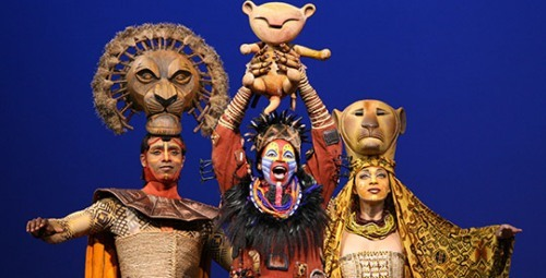 The Lion King Musical facts