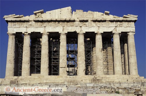 a history and description of parthenon a masterpiece of greek architecture The parthenon history, importance while the integration of doric and ionic elements on the same temple was not a new development in greek architecture.