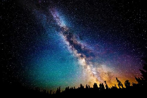 The Milky Way Galaxy Pic