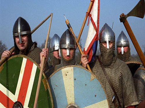 the normans army