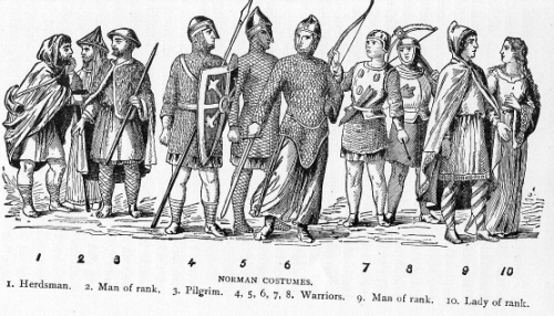 the normans costumes