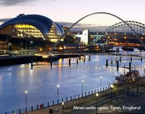 the north east of england