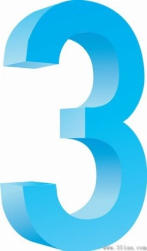 the number 3 pic