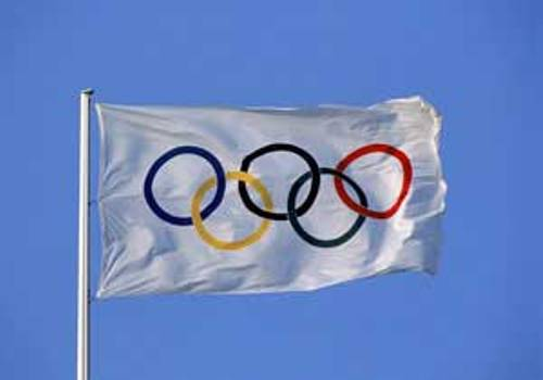 the olympic flag images