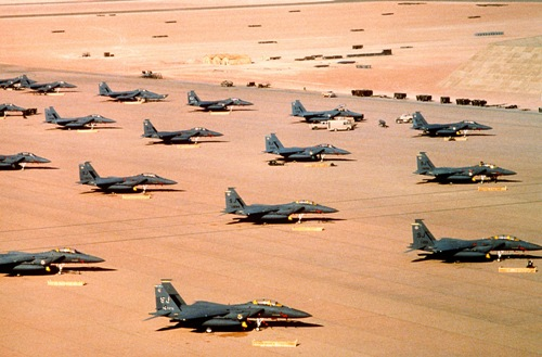the persian gulf war image