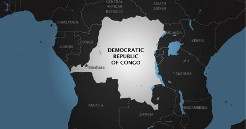 the democratic republic of congo map