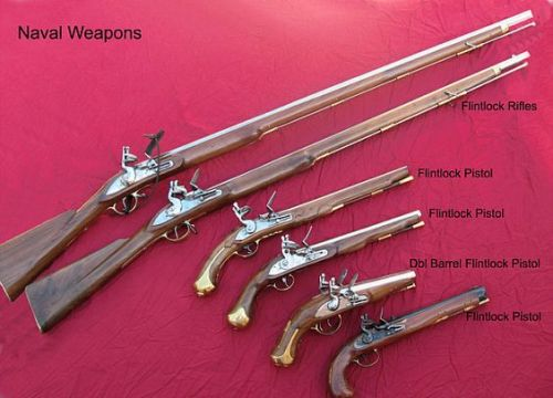 weapons used in the revolutionary and civil wars