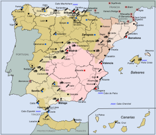 spanish civil war pictures