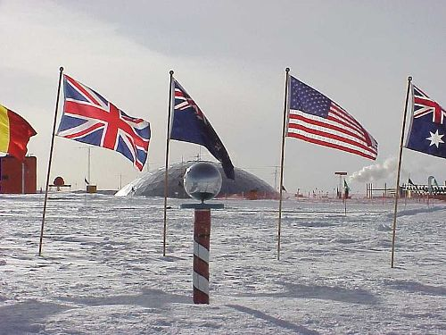 the south pole facts