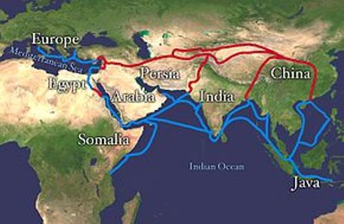 the silk road facts