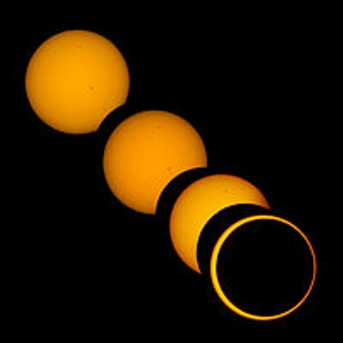 the solar eclipse images