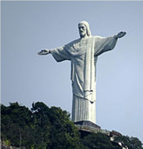 the statue in rio image