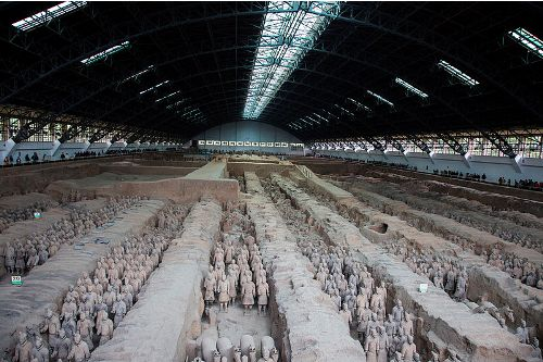 the terracotta army facts