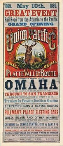 the transcontinental railroad ads