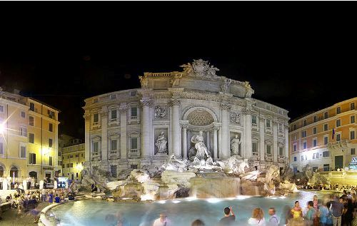 the trevi fountain pictures
