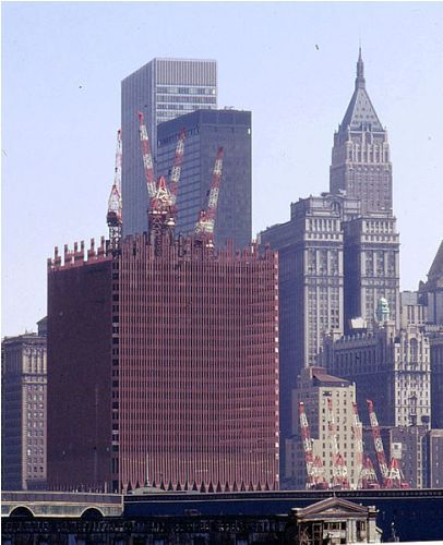 the twin towers image