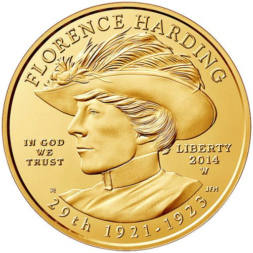 Warren G. Harding Coin