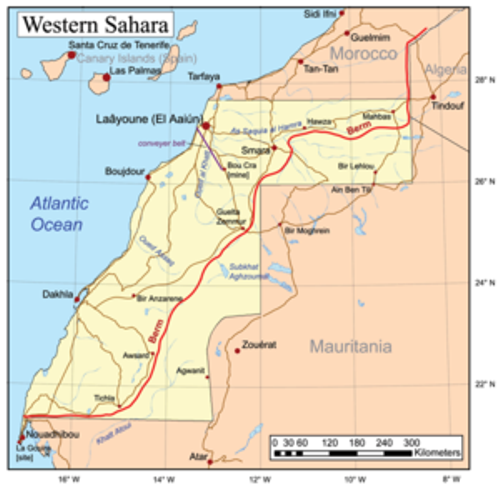 Facts about Western Sahara