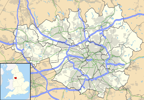 Wigan Map