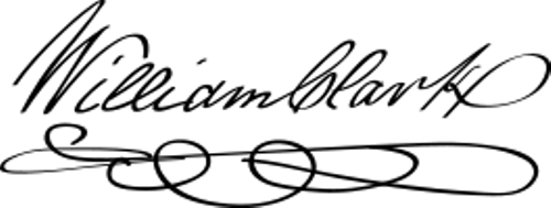 William Clark Signature