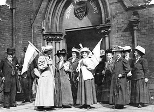 Facts about Women's Suffrage