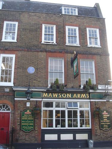 Alexander Pope Mawson Arms