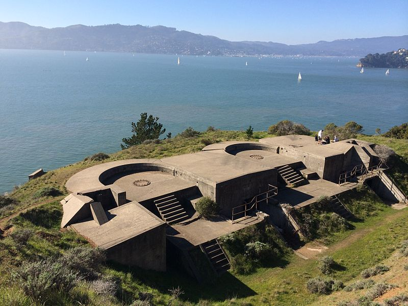 Battery Ledyard in Angel Island